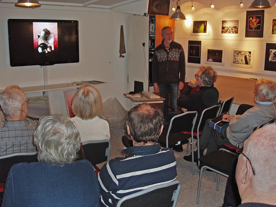 Morten Funder fortæller hvordan han skaber sine billeder