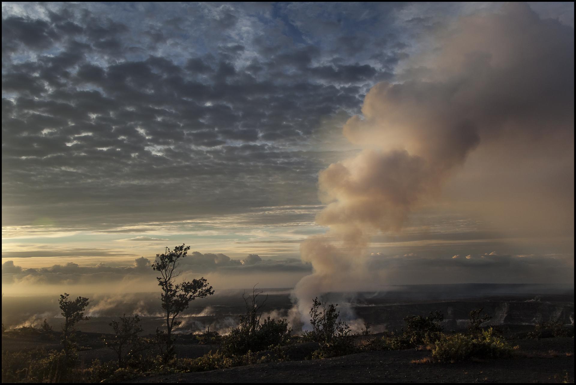 Årets billede digital 5. plads Jesper Plambech Vulkanen Kiauea